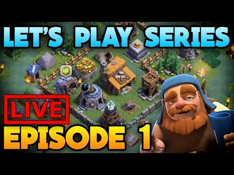 Thumbnail: Clash of Clans | New Update Live Stream - Lets Play Ep.1 (Free To Play - Road To Max) CoC Update!