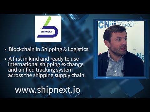 SHIPNEXT | World's First Shipping Token | Aleksey Khomyakov | World Crypto Economic Forum WCEF