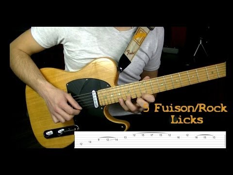5 Fusion/Rock Licks