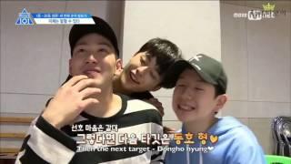 [Produce 101/ss2] Seonho and his bromances part 2