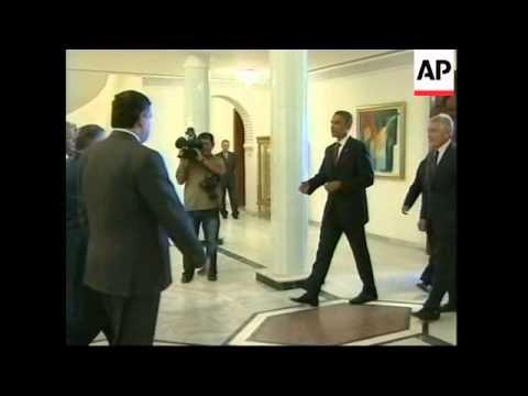 US Dem presidential hopeful meets al-Maliki, Talabani, troops