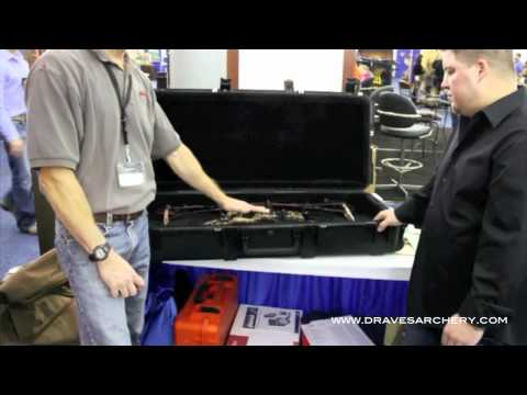 Draves Archery at the 2012 Mathews Trade Show with SKB: the Mathews Z-Series Bow Case