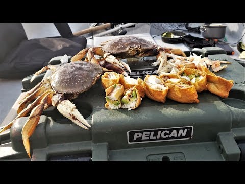Was I a Victim of Poachers? Catch and Cook Dungeness Crab - MOUTH WATERING Unique Recipe