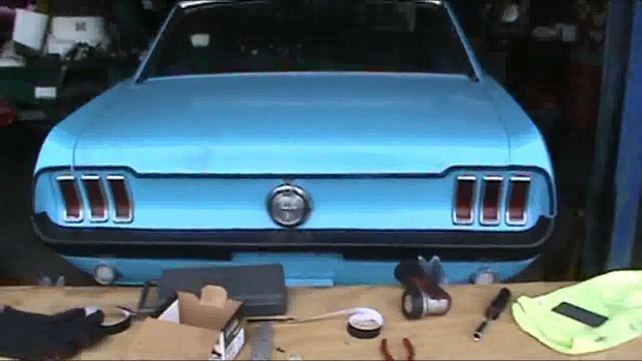 How To Install Car Wrap On A 1967 Mustang Hood First Time Doing Car