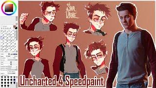 Drawing SAM DRAKE [Uncharted4 speedpaint]