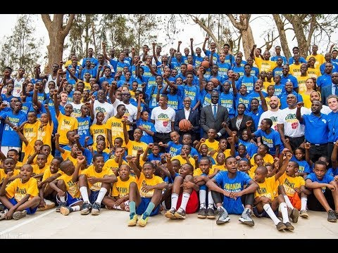 President Paul Kagame launches Giants of Africa Basketball Court at Rafiki Club in Kigali
