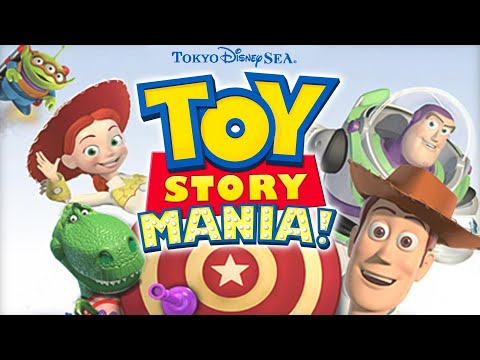 Toy Story Mania! - Queue Area Background Music Loop