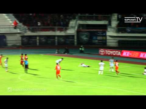 SuphanFC TV | Goal Highlight | TPL 2014 สุพรรณบุรี เอฟซี VS ชัยนาท ฮอร์นบิล | HD