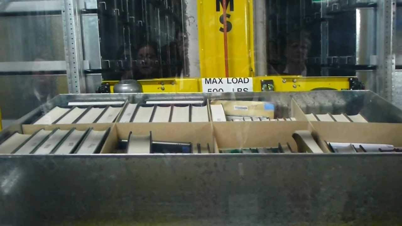 Asrs Automated Storage And Retrieval System At Macquarie