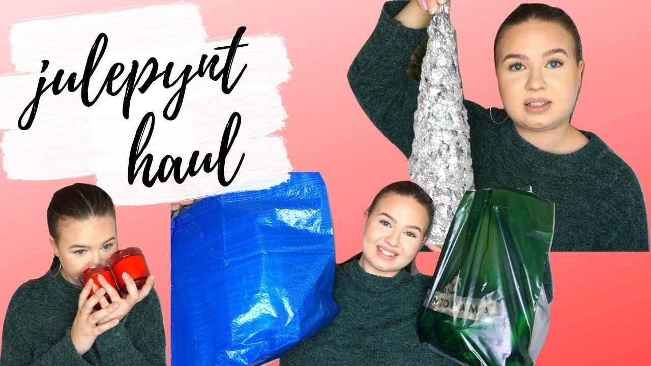JULEPYNT HAUL 2018 | IKEA, Plantorama, Bilka