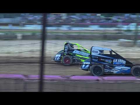Linda's Speedway Midget Week Heat 8-17-17