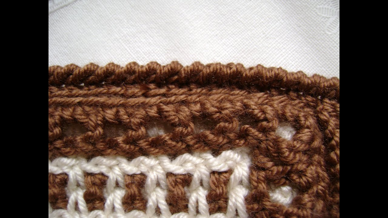 Crochet Stitches Rev Sc : Crochet a Reverse Single Crochet or Crab Stitch - YouTube