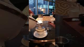 조선팰리스 라운지 캐모마일차