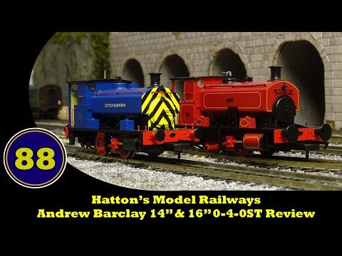 Hatton's Model Railways - Andrew Barclay 0-4-0st Review