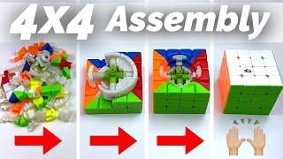 How to Assemble a 4x4 Rubik's Cขbe | Full tutorial
