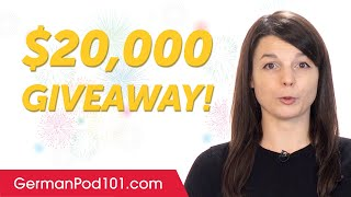 1 Billion Celebration: $20.000 Giveaway!