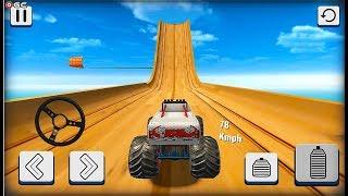 Mega Ramp Car Stunts Racing 3D Impossible Tracks - Crazy Car Games - Android GamePlay #4
