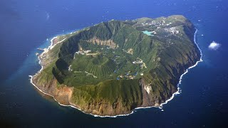 Самый изолированный и необычный остров Японии - Аогашима. Жизнь на вулкане.