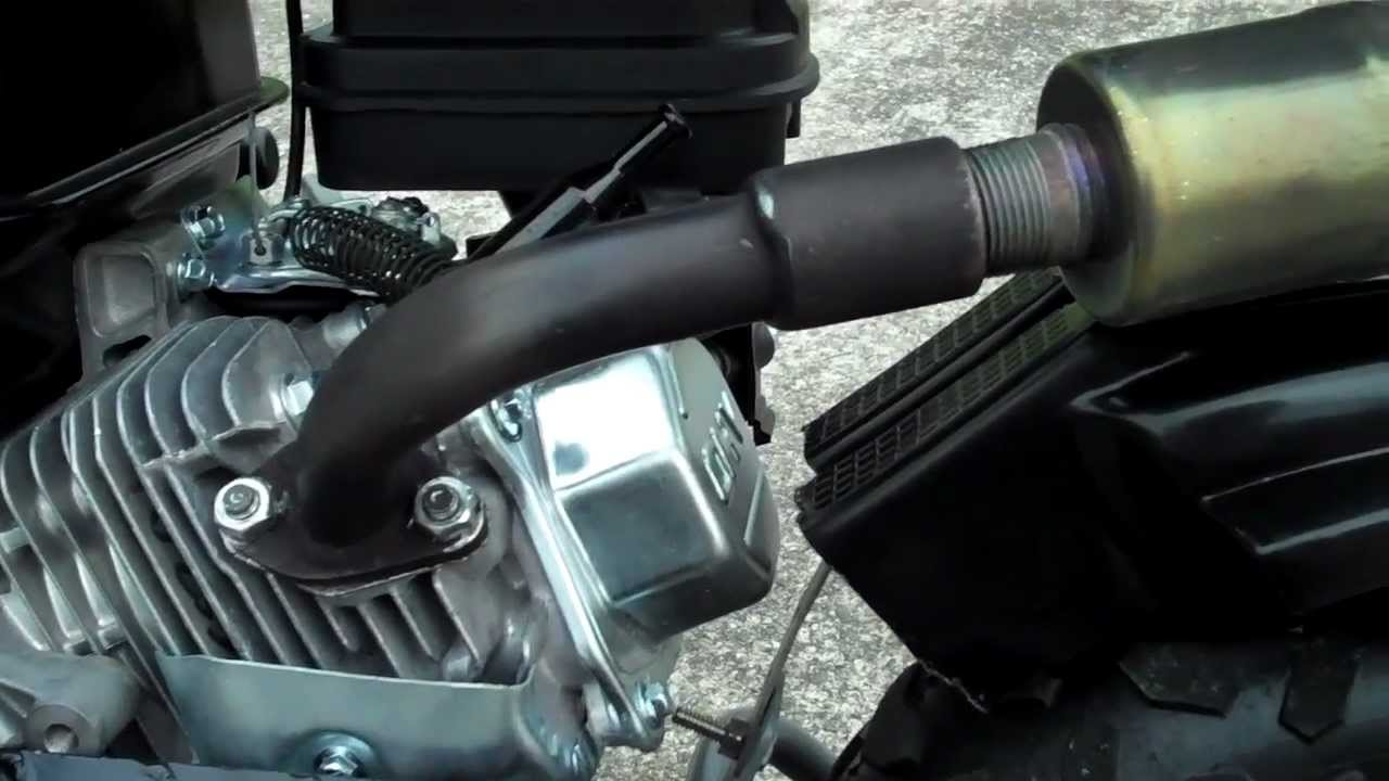 Brute Power Pipes Mini Bike Exahust For HONDA CLONE / Doodle bug Review