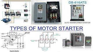 TYPES OF MOTOR STARTER (HINDI)