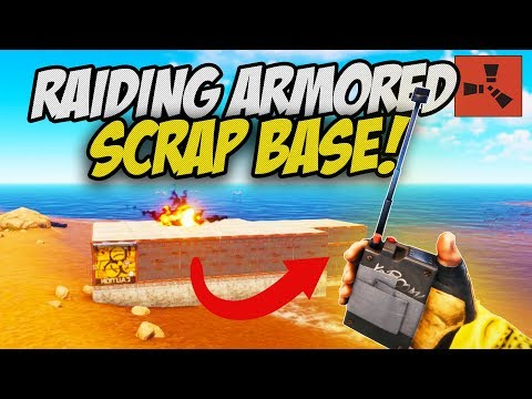 RAIDING Rich ARMOURED SCRAP FARM BASE! - Rust Solo #6 (final episode) thumbnail