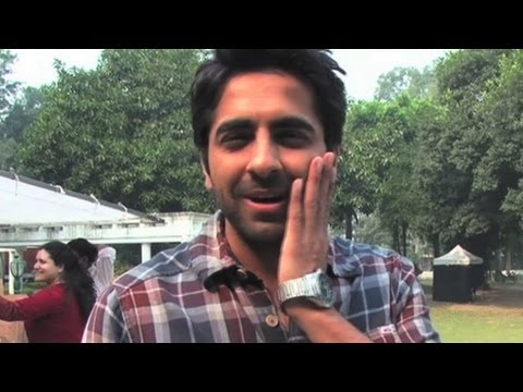 Ayushmann is slapped on sets   Vicky Donor