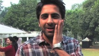 Ayushmann is slapped on sets | vicky donor