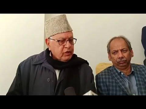 Farooq Abdullah : NC will form next govt on its own