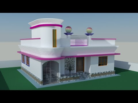 Bangladesh village house designs 4 bedroom youtube for Bangladesh village house design