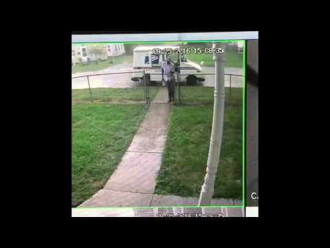 United States Post office United States post office worker lazy postal worker throwing my package