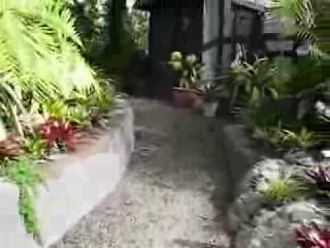 Beautiful Tropical Residential Garden with Waterfalls in Maungaturoto