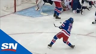 Rangers Score Two Goals In 23 Seconds Against Capitals