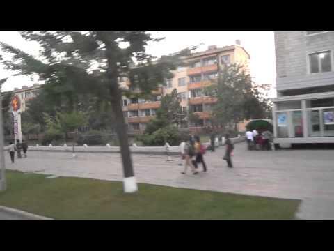Rare Street View of Afternoon Pyongyang, North Korea
