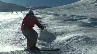 Карвинговые лыжи для продвинутых Поворот Дельфина