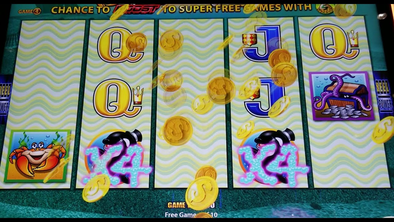 Whales Of Cash Huge Win! Wonder 4 Boost Slot