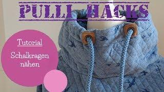Schalkragen nähen   Schnittmuster erstellen   Pulli Hacks   DIY Nähanleitung   mommymade