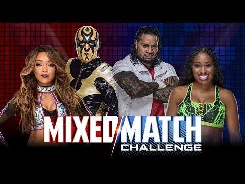 WWE Mixed Match Challenge: Alicia Fox & Goldust Vs Naomi ... | 480 x 360 jpeg 43kB