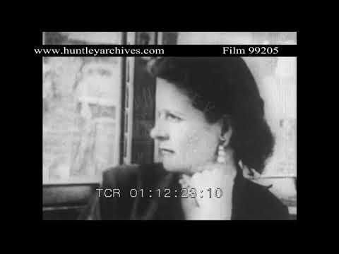 Montgomery Bus Boycott.  Archive film 99205
