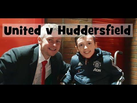 Man United v Hudderfield Vlog 26 Dec 18