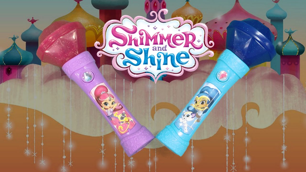 Shimmer and Shine Genie Gem Microphones from Fisher-Price