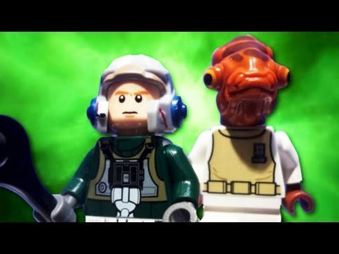 """LEGO Star Wars 2013 : 75003 """"A-Wing Starfighter"""" - Review"""