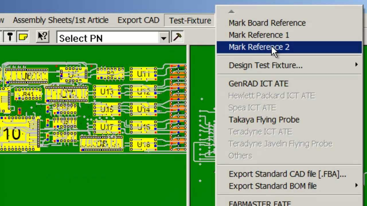 Software to program Electronic ATE Test & Fixturing equipment from ...