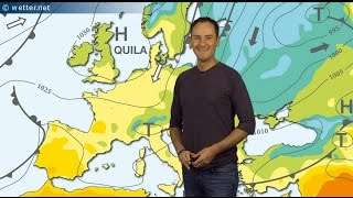 Hoch Quila bringt weiter Frühlingswetter! (Mod.: Dominik Jung)