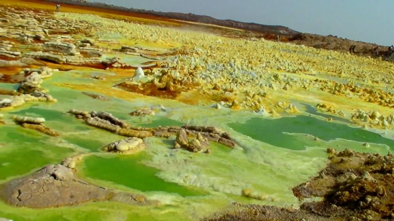 Dallol Volcano In The Danakil Desert, Great Rift Valley