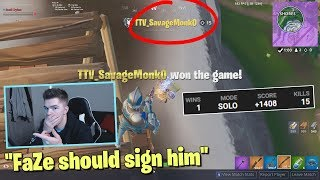 I died and spectated the BEST controller player on fortnite...