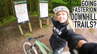 CAN I IMPROVE MY WET DOWNHILL RIDING?// CANNOP CYCLE CENTRE