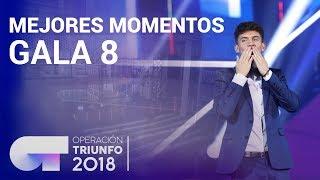 Mejores momentos de la Gala 8 | OT 2018
