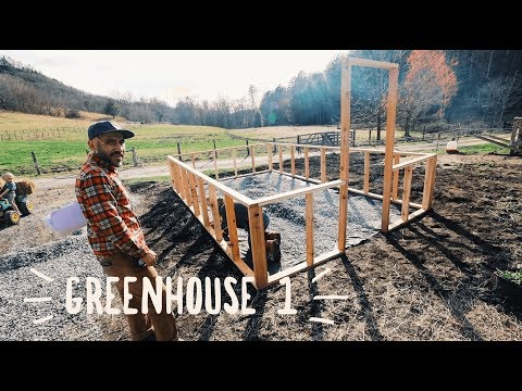 Building an *Alaska Proof GREENHOUSE by Ana White