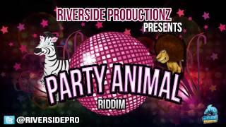 Party Animal Riddim | Riverside Productionz | Dancehall riddim Instrumental 2013