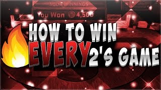 HOW TO WIN EVERY 2's GAME 100% | Sports vs Annoying!!